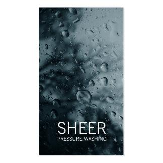 GC | Sheer Water Gray Business Card Templates