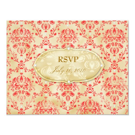 GC   Sweet Cookie RSVP   Strawberry Field Card