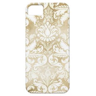 GC Tan Cream Vintage Damask iPhone 5 Cover