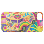 GC Ticket to Ride Hippy Peace Bus iphone 5 Cover