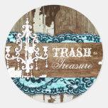 GC | Trash to Treasure Aqua Blue sticker