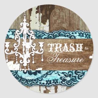 GC | Trash to Treasure Aqua Blue sticker
