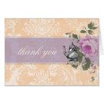 GC Vintage Bridal Shower Tea Party Thank You Card