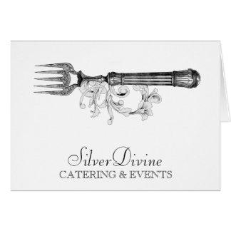 GC Vintage Silver Divine Silverware Card