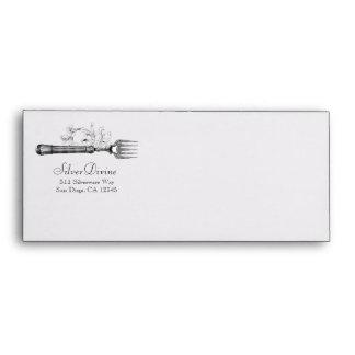 GC Vintage Silver Divine Silverware Envelope