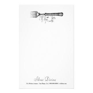 GC VIntage Silver Divine Stationery Paper
