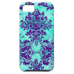 GC Vintage Turquoise Purple iPhone 5 Cover