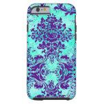 GC Vintage Turquoise Purple iPhone 6 Case