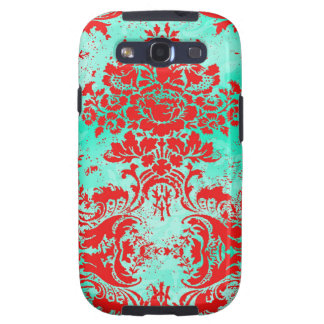 GC Vintage Turquoise Red Phone Case Galaxy S3 Covers