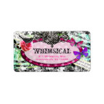 GC Whimsical Vintage Charm Address Label