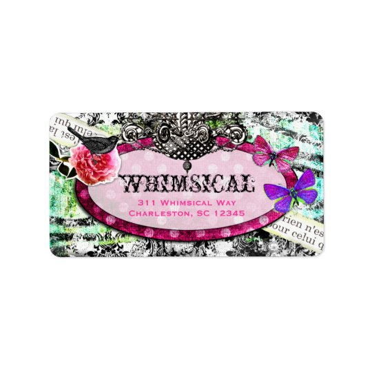 GC Whimsical Vintage Charm Label
