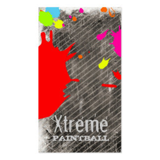 GC | Xtreme Paint Business Card Template