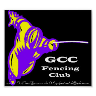 GCC Fencing Poster