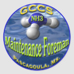GCCS-NH3FOREMAN2 STICKERS