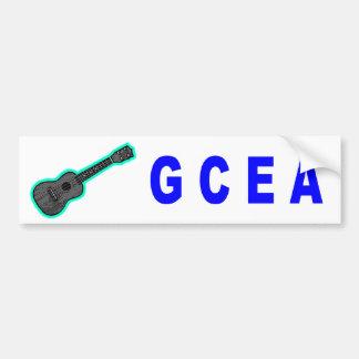GCEA (Ukulele) Pegatina De Parachoque