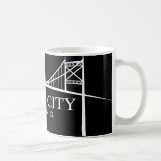 GCF - White on Black Mug