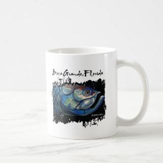 GCG Boca Grande Blue Tarpon Head Coffee Mugs