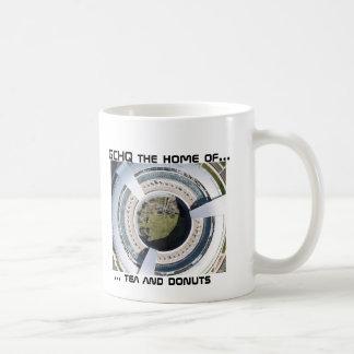 GCHQ Donut, ... tea and donuts, GCHQ the home o... Coffee Mug