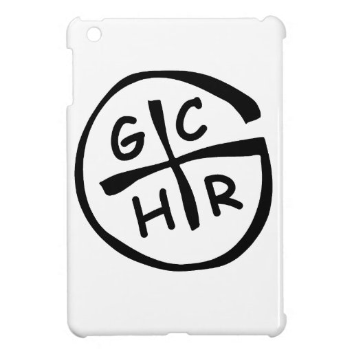 GCHR-Mono iPad Mini Cárcasa