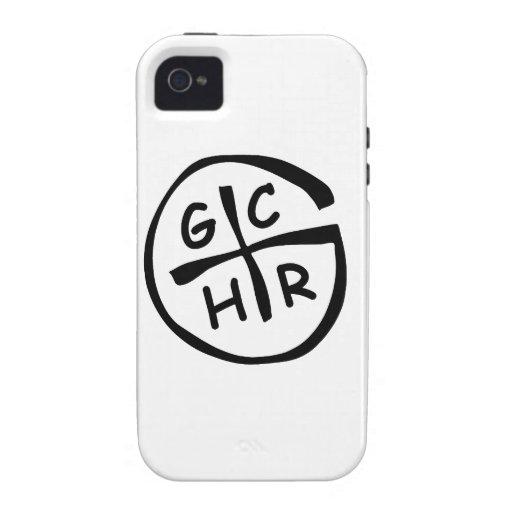 GCHR-Mono iPhone 4/4S Carcasas