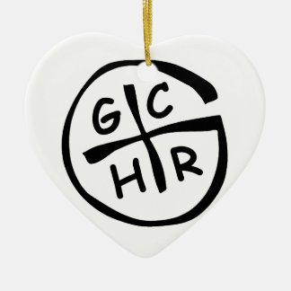 GCHR-Mono Christmas Tree Ornaments