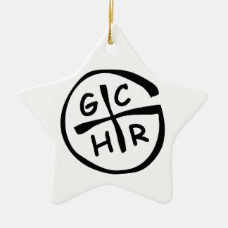 GCHR-Mono Christmas Ornament