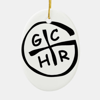 GCHR-Mono Christmas Ornaments