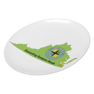 GCHR State Logo Dinner Plate