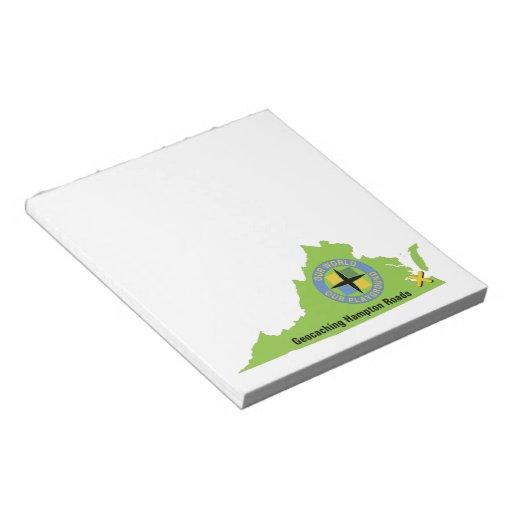 GCHR State Logo Memo Notepads