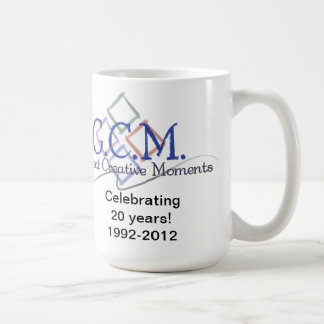 GCM Logo Mug-White Classic White Coffee Mug