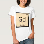 Gd - Gouda Cheese Chemistry Periodic Table Symbol T-shirts