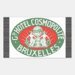 Gd Hotel Cosmopolite Bruxelles, Vintage Stickers