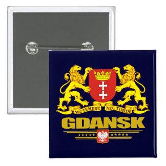 Gdansk COA 2 Inch Square Button