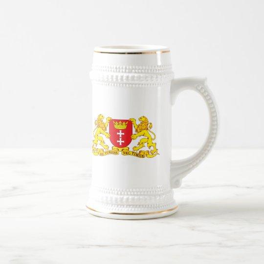Gdansk Coat of Arms (Danzig) Beer Stein
