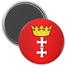 Gdansk Fridge Magnet
