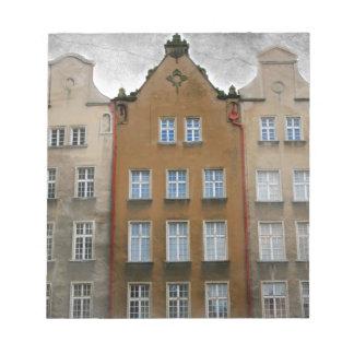 Gdansk, Poland Memo Note Pad