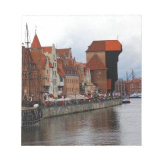 Gdansk, Poland Note Pad