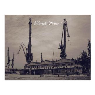 Gdansk, Poland Postcard