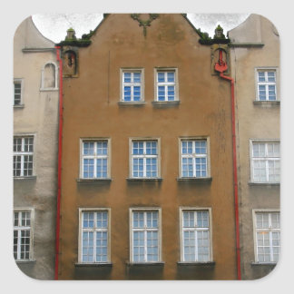 Gdansk, Poland Square Sticker