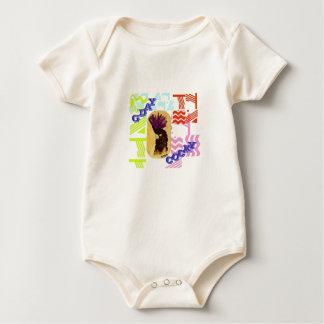 G'day Cocky Baby Bodysuit