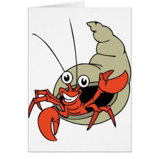 G'day Crab Greeting Card