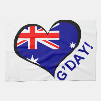 G'day! Hand Towel