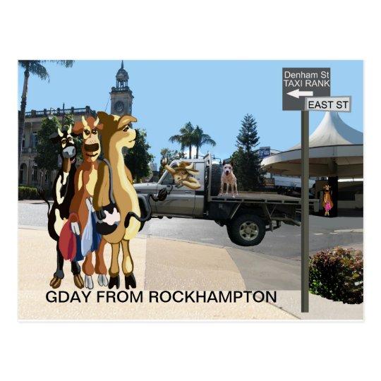 Gday ladies postcard