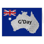 G'Day Logo Australian Greeting Card