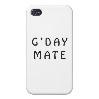G'DAY MATE iPhone 4 CASE