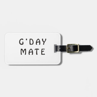 G'DAY MATE TAG FOR LUGGAGE