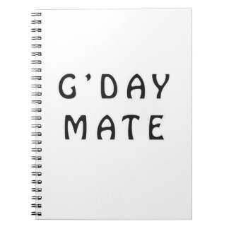 G'DAY MATE NOTEBOOK