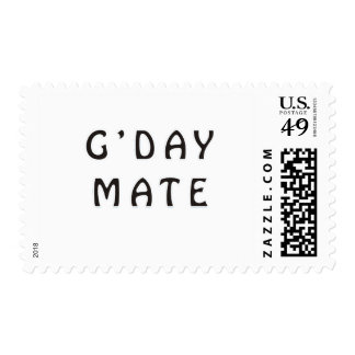 G'DAY MATE STAMPS