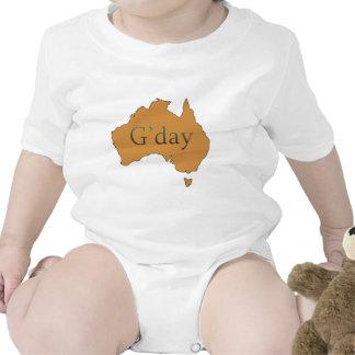 G'day Traje De Bebé