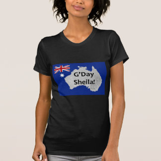G'Day Sheila Australian Logo Woman's T-Shirt